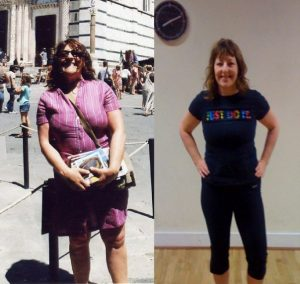 Karen lost over 3 stone, 15lbs of it in her first 4 week camp!